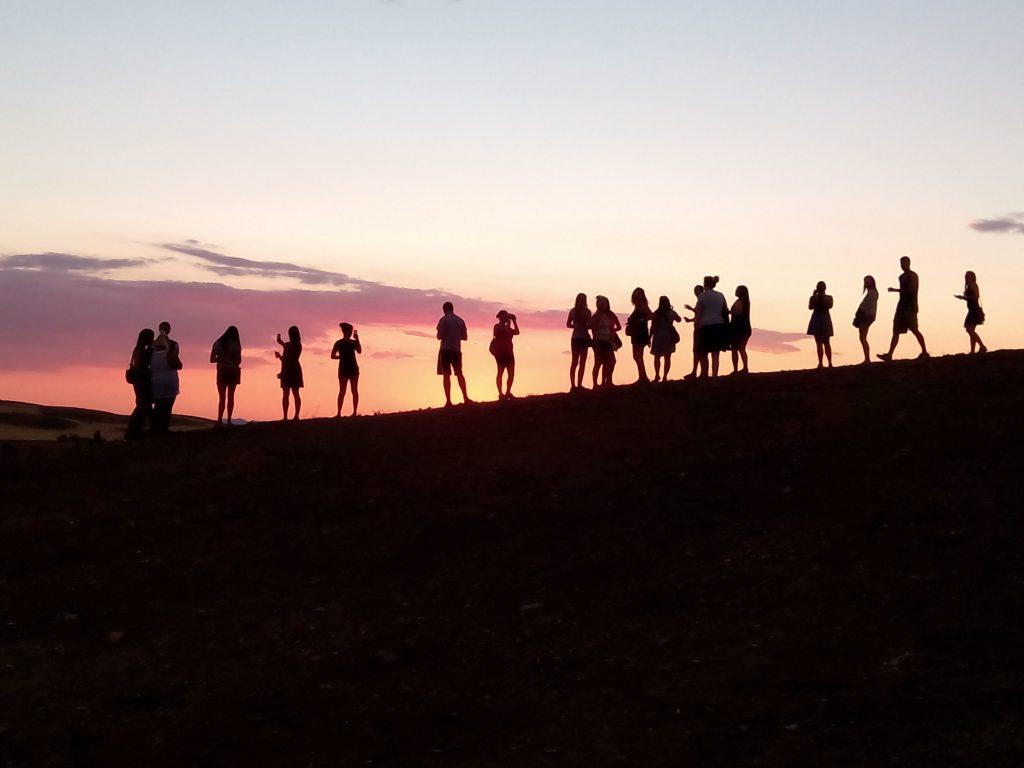 Atardecer en el Campo de Montiel, Calambur Experience