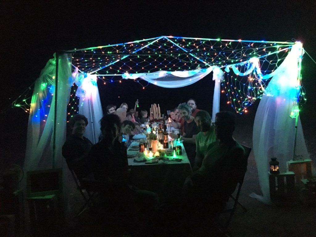 Cena de estrellas, cta de vino y observación de estrellas